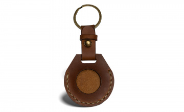 Handcrafter leather case for AirTag